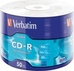 Verbatim CD-R cake box 50 Extra Protection 700MB 52x