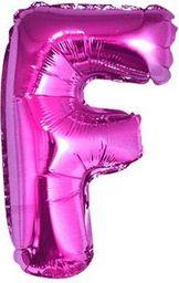 """GoDan Balon foliowy """"litera F"""" - różowa 35cm (FG-L35RF)"""