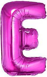 """GoDan Balon foliowy """"litera E"""" - różowa 35cm (FG-L35RE)"""