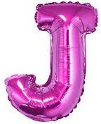 "GoDan Balon foliowy ""litera J"" - różowa 35cm (FG-L35RJ)"