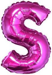 "GoDan Balon foliowy ""litera S"" - różowa 35cm (FG-L35RS)"
