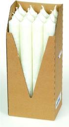 Eubiona Świeca stearynowa biała 22x210 mm