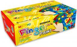 Mungyo Farby Do Malowania Palcami 6 Kolorów
