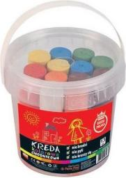 Panta Plast Kreda kolorowa chodnikowa w wiaderku 13 sztuk (0439-0021-99)