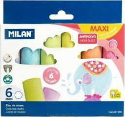 Milan Kreda maxi okrągła 6 kolorów (247206)
