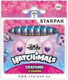 Starpak Kredki woskowe Hatchimals 12 kolorów