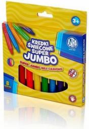 Astra Kredki świecowe Jumbo 8 kolorów