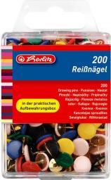 Herlitz Pinezki kolorowe 200 szt.