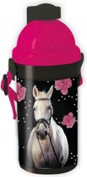 Paso Bidon Horse czarno-różowy (18-3021HR)