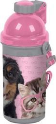 Paso Bidon Studio Pets różowo-szary (PEN-3021)