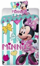 FARO Pościel Minnie Mouse 084 135x100 + 1 Poszewka 40x60