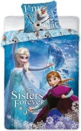 FARO Komplet pościeli Frozen 102 160x200  + 70x80 (TEKFAOPOS0150)