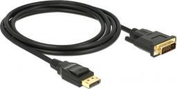 Kabel Delock DisplayPort - DVI-D 2m czarny (85313)
