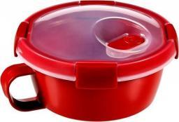 Curver Pojemnik na żywność MICRO-WAVE czerwony 0.6l (232579)