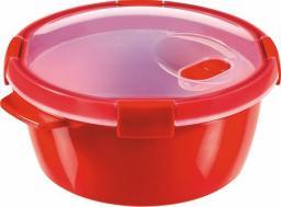 Curver Pojemnik na żywność MICRO-WAVE czerwony 1.6l (232576)
