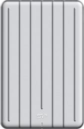 Dysk zewnętrzny Silicon Power SSD B75 120 GB Srebrny (SP120GBPSDB75SCS)