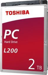 """Dysk Toshiba 2TB 2.5"""" SATA III (HDWL120UZSVA)"""