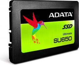 Dysk SSD ADATA Ultimate SU650 960GB SATA3 (ASU650SS-960GT-C)