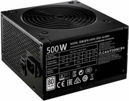 Zasilacz Cooler Master MWE 500 80+ (MPW-5002-ACABW)