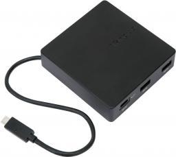 Stacja/replikator Targus USB-C Travel Dock with Power Pass-Through (DOCK412EUZ)