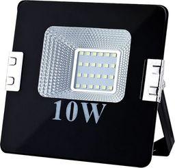 Naświetlacz ART ART Lampa zew. LED,10W,SMD,IP65, AC80-265V,black, 6500K-CW