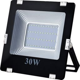 Naświetlacz ART ART Lampa zew. LED,30W,SMD,IP65, AC80-265V,black, 6500K-CW