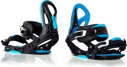 Woox Wiązania Snowboardowe Constrictor Niebieskie  r. S/M