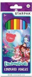 Starpak Kredki ołówkowe 12 kolorów Enchantimals (405802)