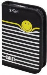 Piórnik Herlitz B.W. Smiley B&Y Stripes