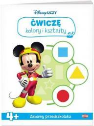 Disney Uczy. Ćwiczę kolory i kształty