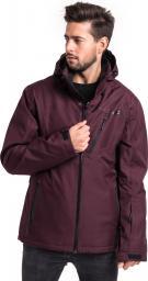 4f Kurtka narciarska męska H4Z18 KUMN004 burgundowa r. XL ID produktu: 4585873