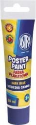 Astra Farby Plakatowe Tuba 30ml Ciemna Niebieska