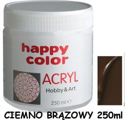 Happy Color Farba akrylowa 75 ml ciemnobrązowy (7370 0075-75)
