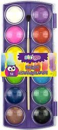 Pukka Pad Farby akwarelowe 12 kolorów z pędzelkiem (SSC016)