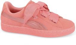 Puma Buty dziecięce Suede Heart SNK różowe r. 38 (364918 05) ID produktu: 4587432