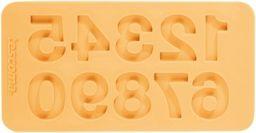 Tescoma  Foremki silikonowe, cyfry, różowe