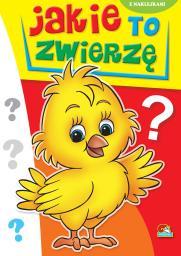Kolorowanka. Jakie to zwierzę? - Kurczak