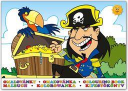 Kolorowanka MFP Piraci 2