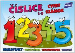 Kolorowanka - Cyfry 1-5