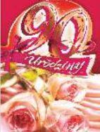 Artnuvo Kartka na 90. Urodziny B6