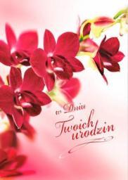 Artnuvo Karnet B6 Kwiaty W Dniu Twoich Urodzin FF1268