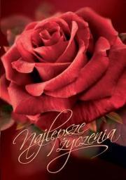 Artnuvo Karnet B6 Kwiaty Najlepsze życzenia FF1228