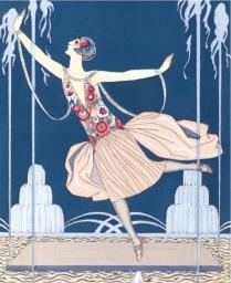 """Museums & Galleries Karnet  La Danseuse aux Jets d""""Eau"""