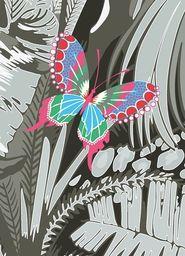 Museums & Galleries Karnet B6 Butterfly z kopertą