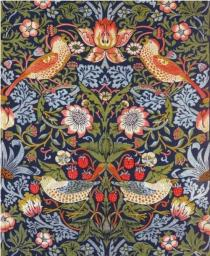 Museums & Galleries Karnet Strawberry Thief furnishing textile
