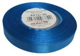 Aliga Wstążka AX12-19 32m satynowa ciemnoniebieska
