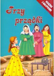 Olesiejuk Trzy prządki. Książka z nalepkami