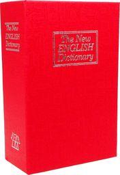 iBOX Sejf książka na kluczyk 180 x 115 x 55mm czerwony (ISNK-05RED)