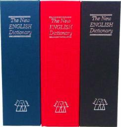 iBOX Sejf książka na kluczyk 180 x 115 x 55mm niebieski (ISNK-05BLUE)
