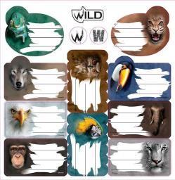 Beniamin Naklejki na zeszyt Wild